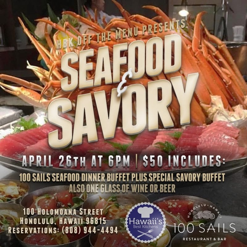 Seafood and Savory event.