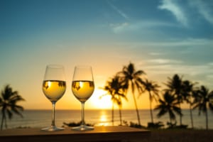Photo of a Sunset Wine Tasting in Oahu