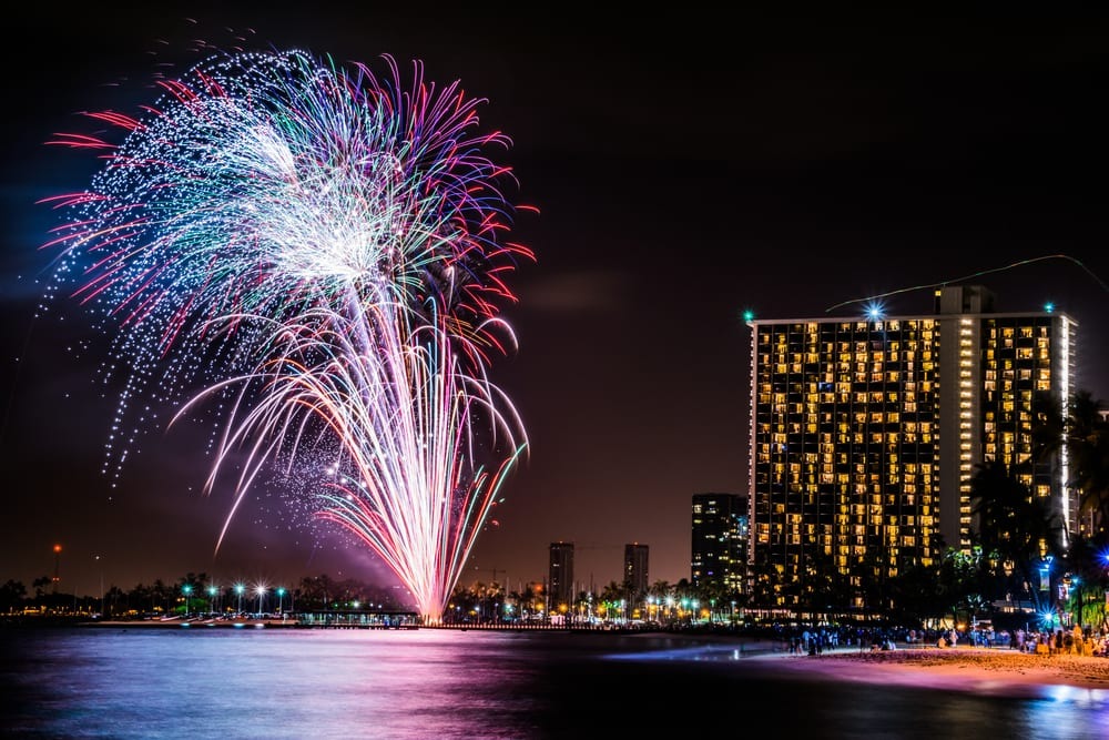 Photo of the Friday Night Fireworks, One of the Best Waikiki Events