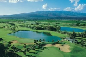 Photo of Hawaii Prince Golf Course, a magnet for bleisure travel vacationers.